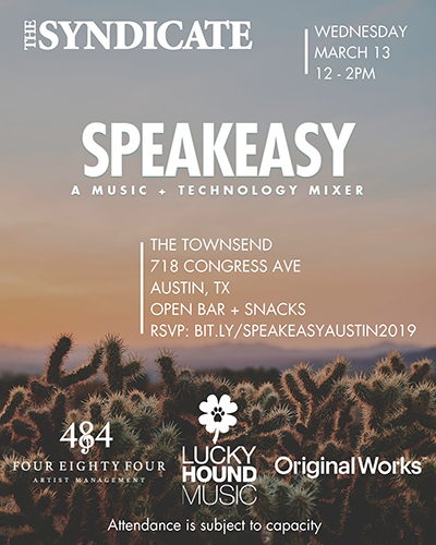 Austin Speakeasy 2019 flyer