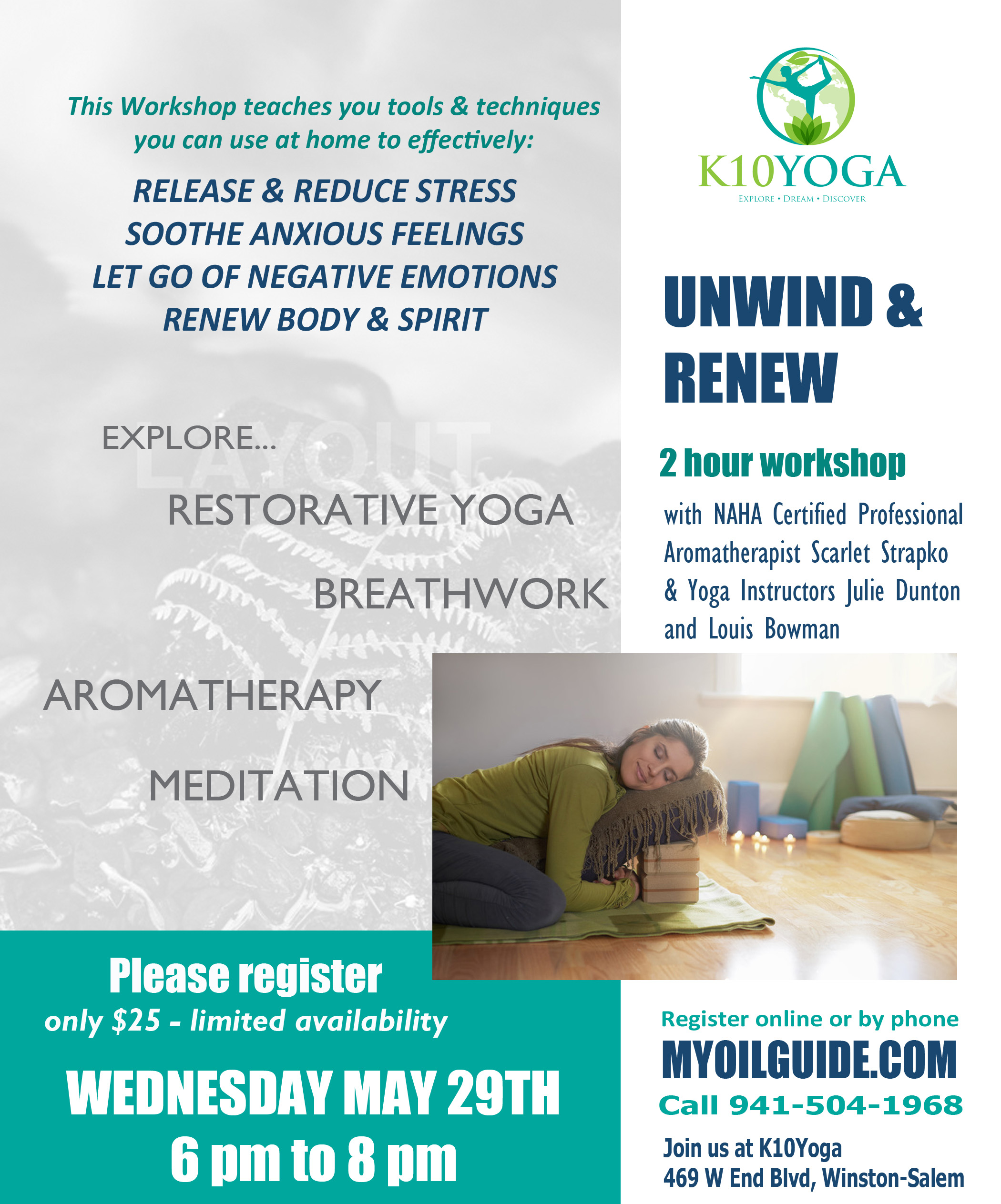 Unwind & Renew Stress Release Workshop