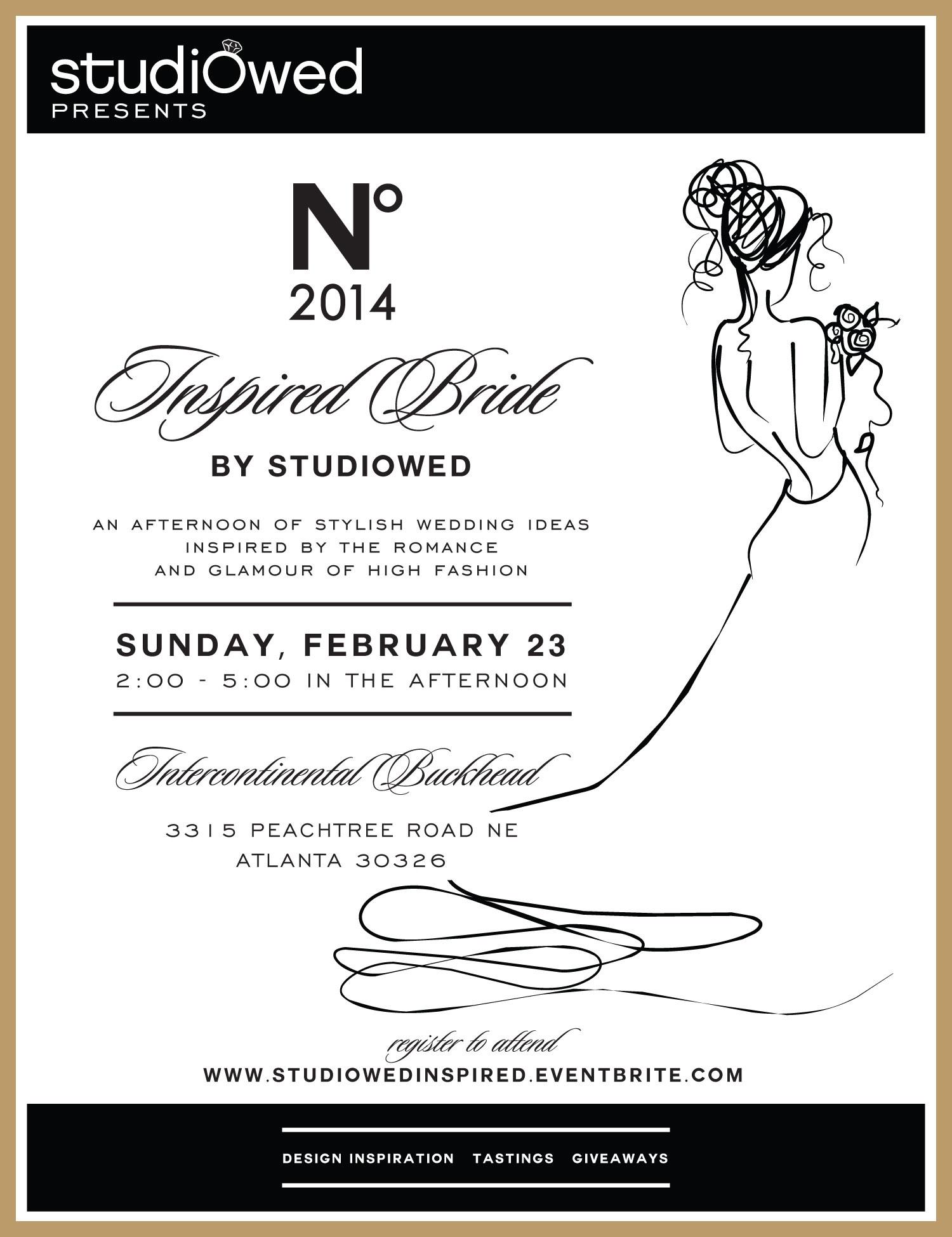 StudioWed Inspired Bride 2014