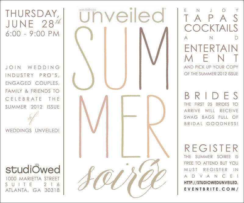 Weddings Unveiled Summer Soiree
