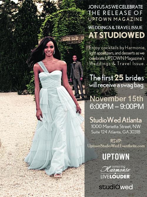 Uptown Magazine Event at StudioWed