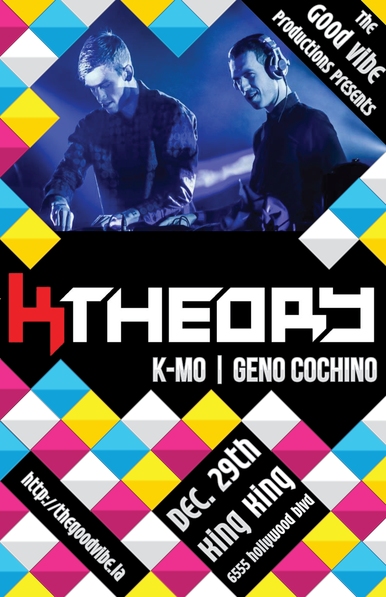 K Theory K-MO Geno Cochino King King 12/29