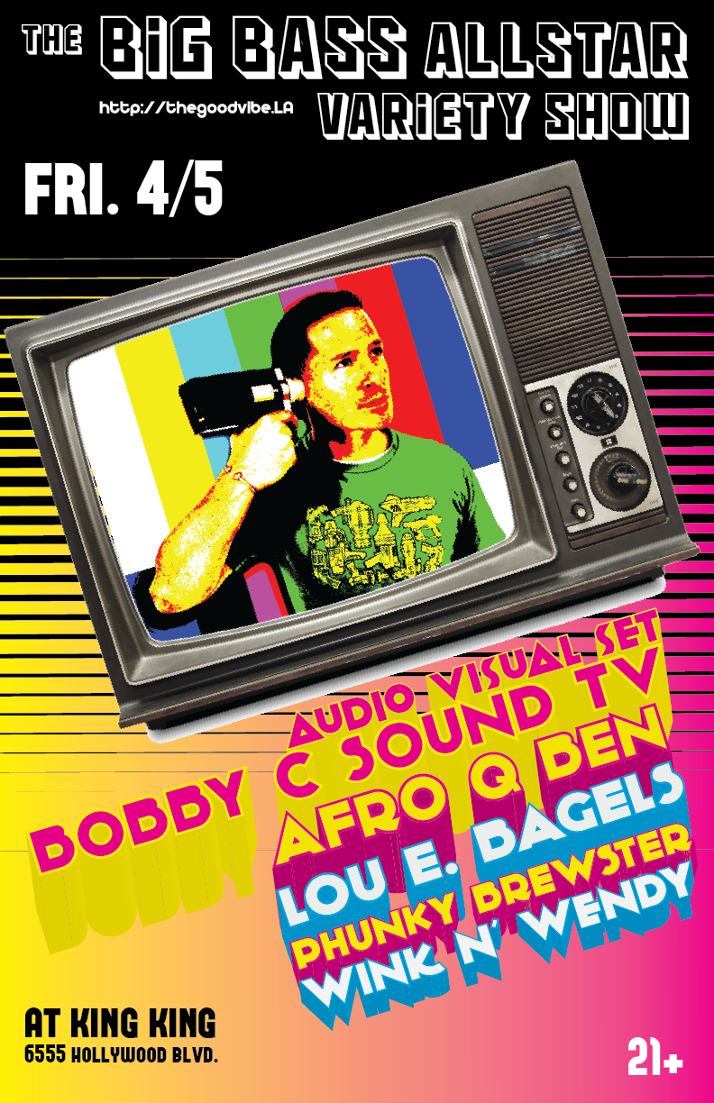 Bobby C Sound TV, Afro Q Ben, King King, Hollywood, Los Angeles