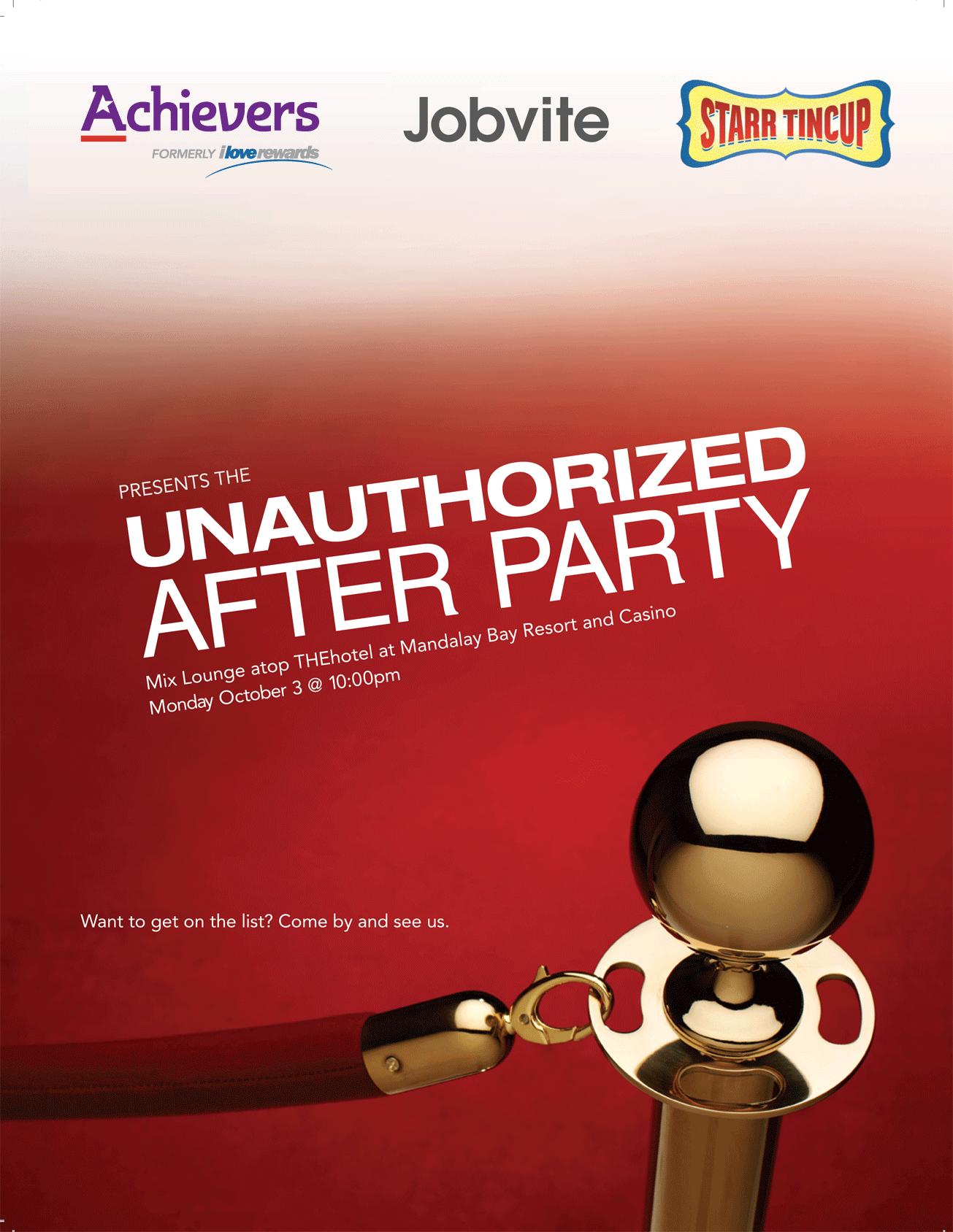 unauthorixed Party invite