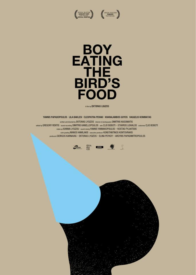 Poster from the movie 'Boy eating the bird's food'