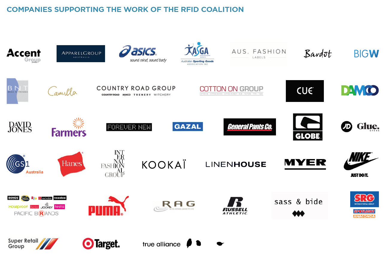 Companies supporting coalition