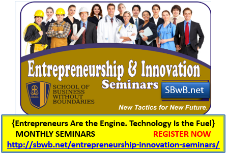 Entrepreneurship & Innovation Seminars