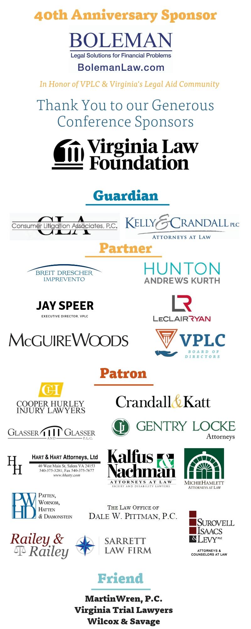 Sponsor Logos Overall
