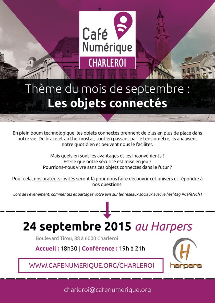 Café Numérique Charleroi (septembre)