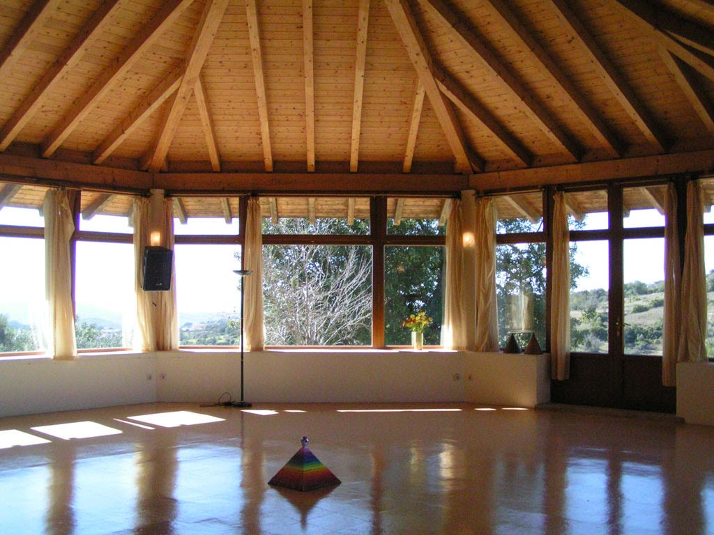 yoga retreat yoga and meditation room