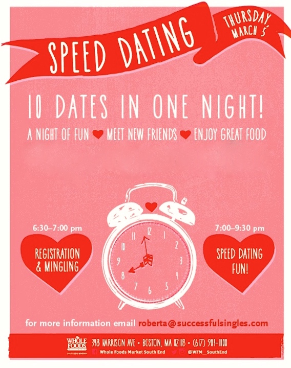 How to market a speed dating event