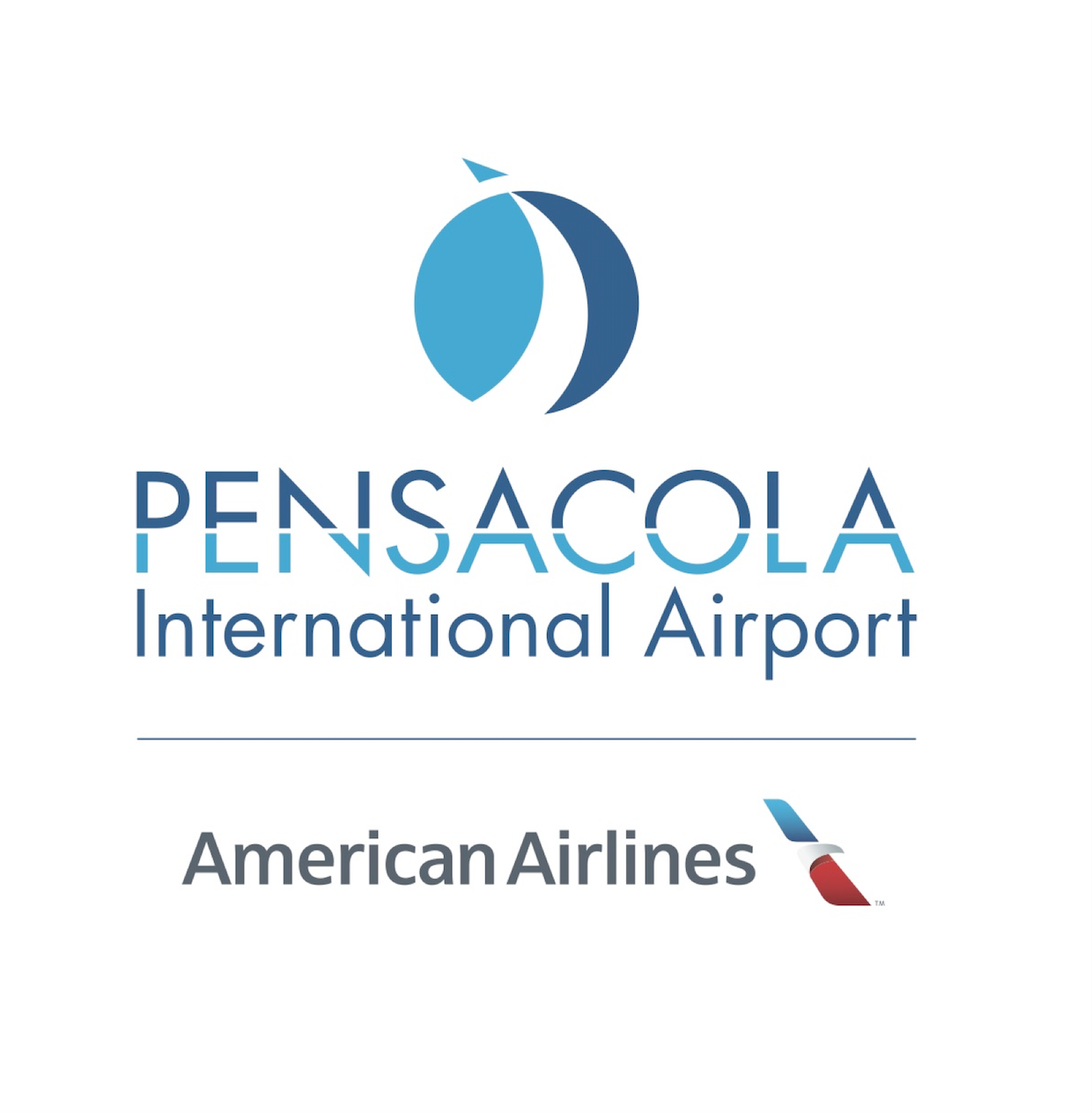 PNS and American Airport logo.