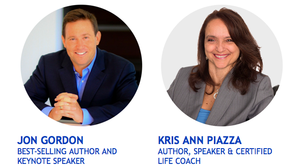 Jon Gordon and Kris Ann Piazza