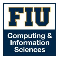 FIU SCIS Logo