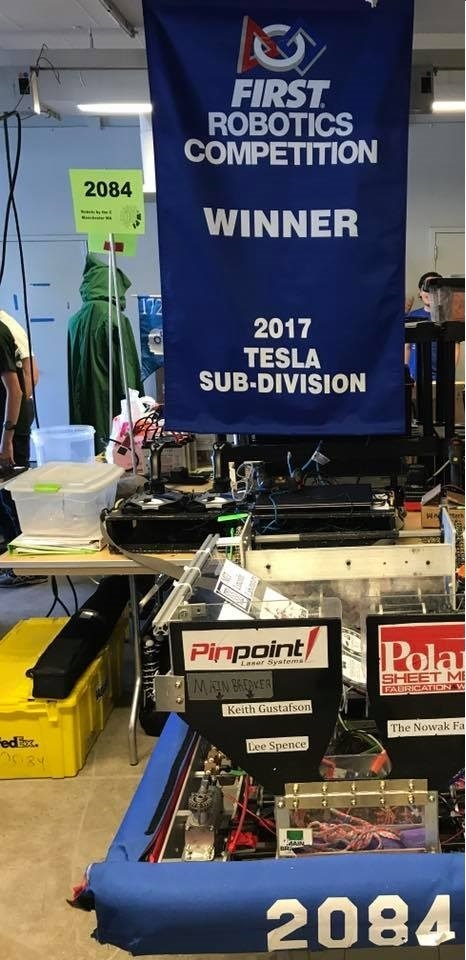 World Championship Tesla Division Banner