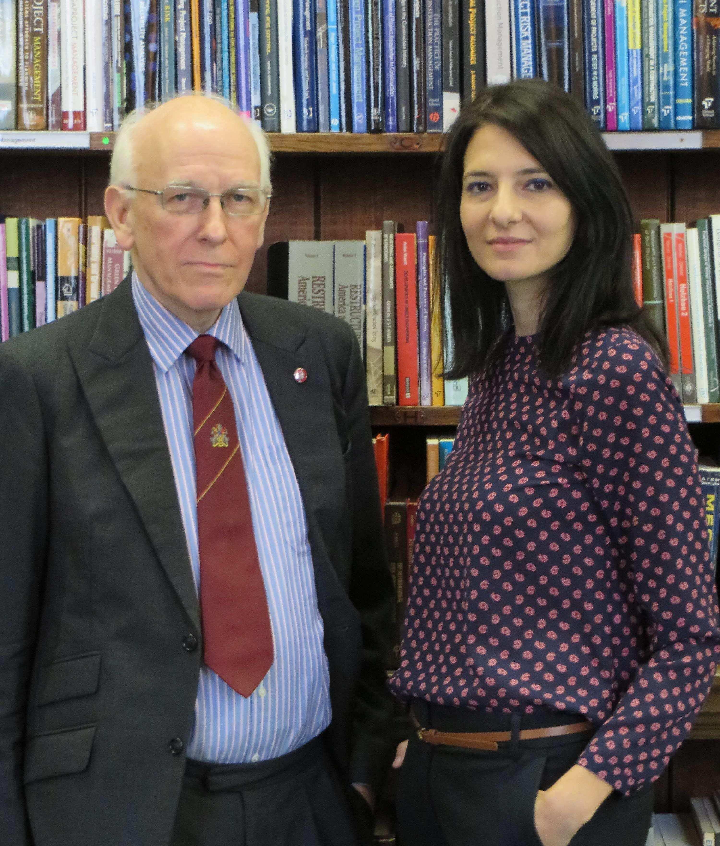 David Meggitt and Christie Sarri