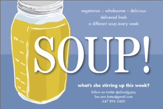 Lisa Kate soup logo