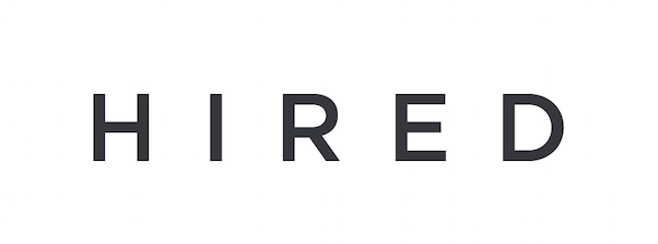 hired.com logo