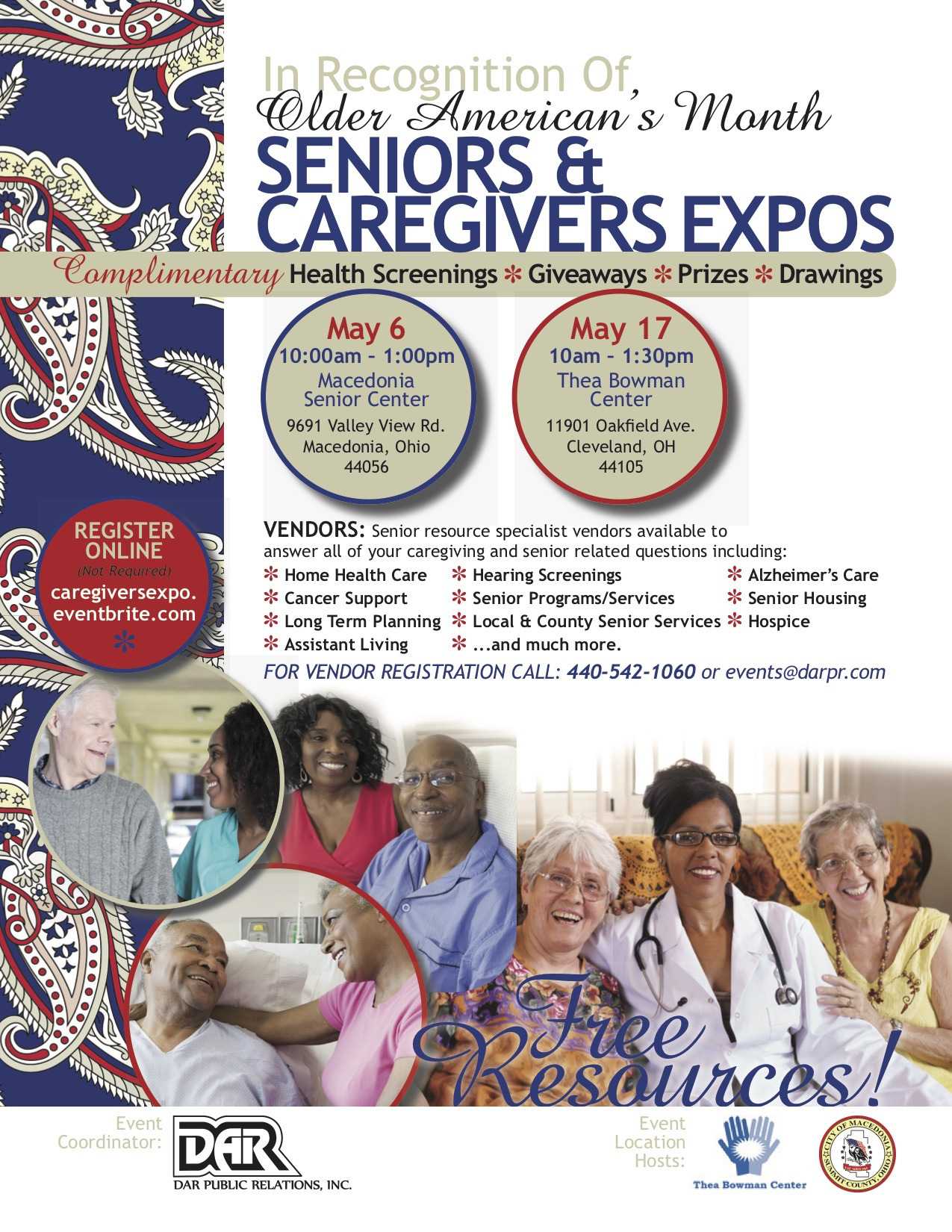 MAY Senior Expo Flyer