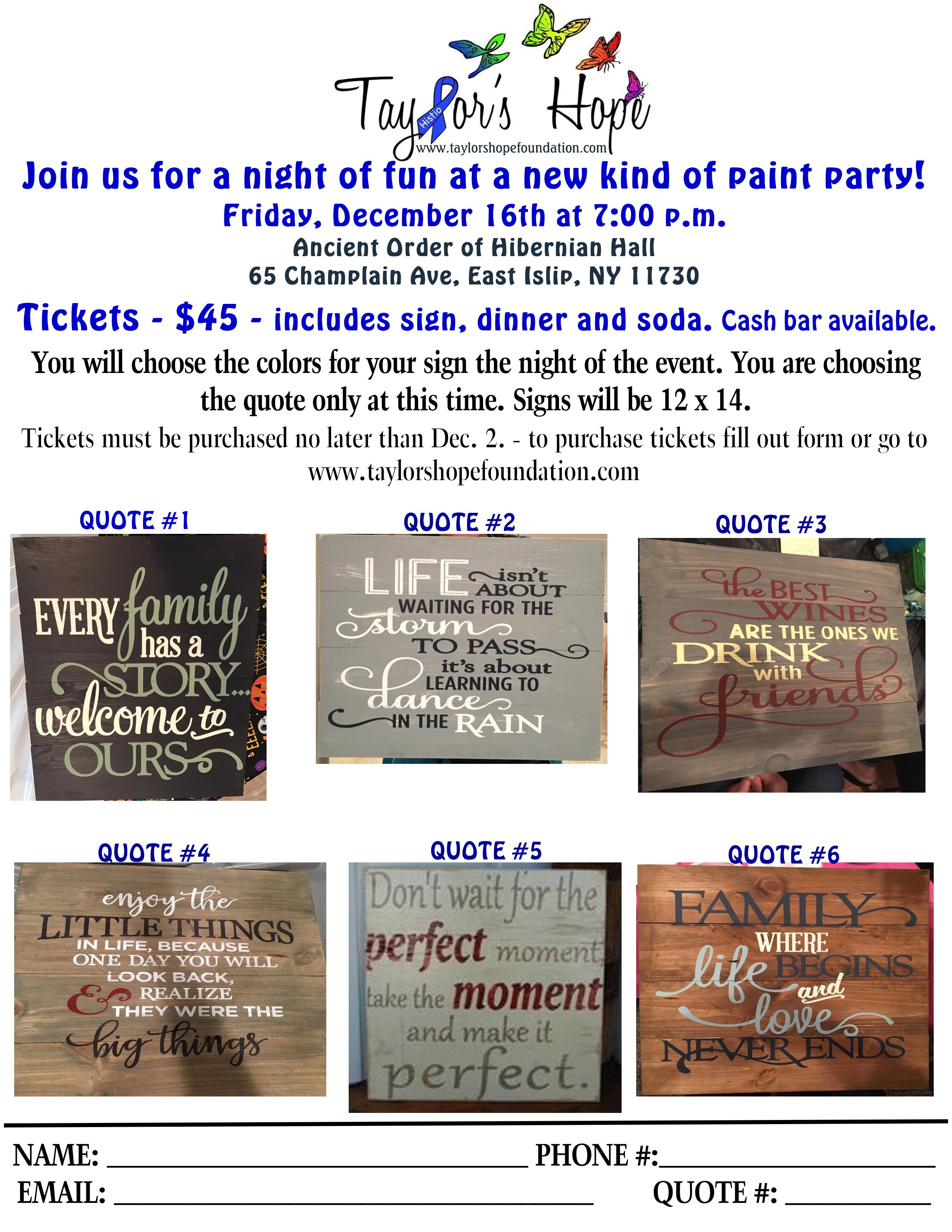 Join us for a night of fun at a new type of paint party!