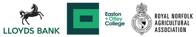 Lloyds Bank, Easton & Otley College, Royal Norfolk Agricultural Association Logos