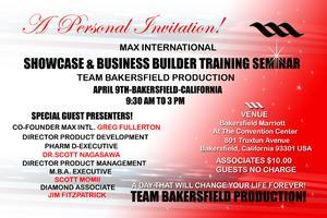 A personal invitation