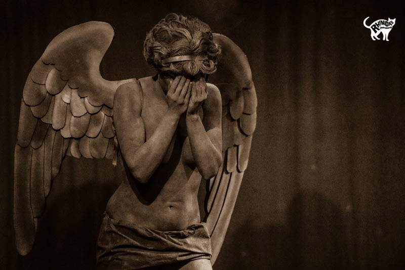 Ava Iscariot as the Weeping Angel Photo by Rhinoa Photography