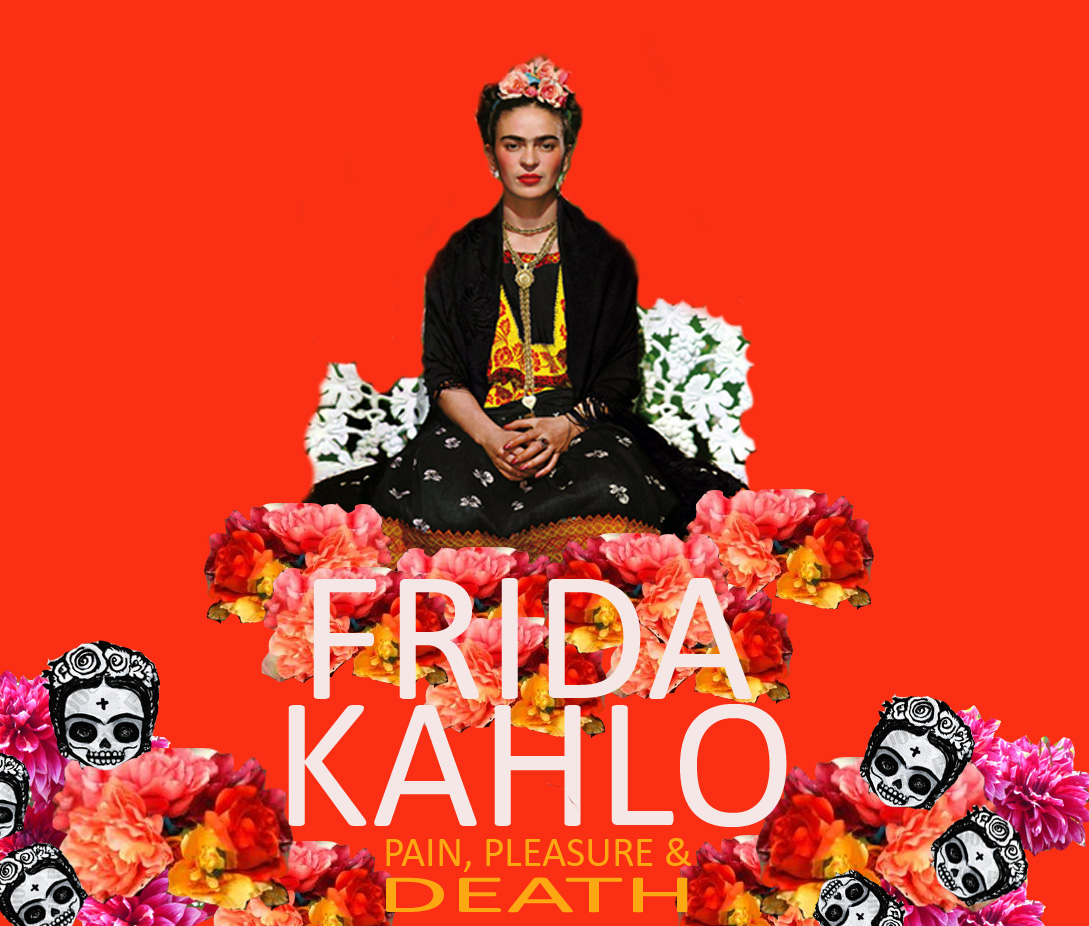 Frida Kahlo Art Macabre Death Drawing Image