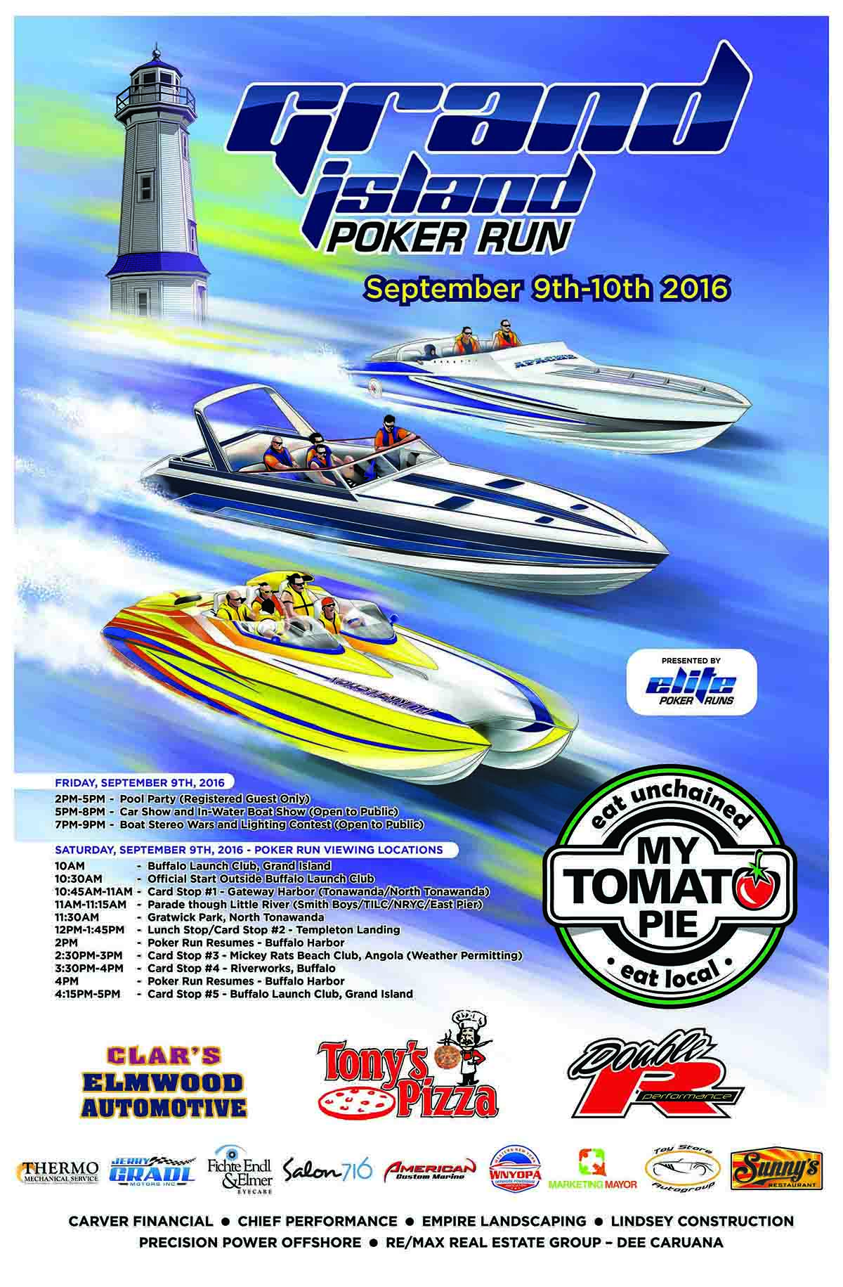 Grand Island Poker Run - POSTER
