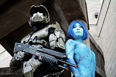 HALO Cosplay - IncredCon 2014 - Orange County Science Fiction, Fantasy, Comic Book Convention