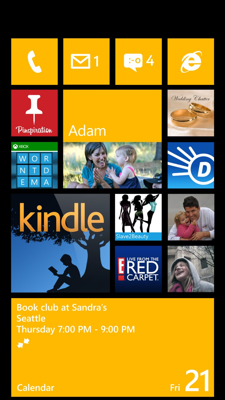 Windows Phone 8  Screenshot