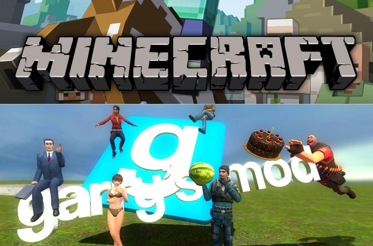 Games! Gary's mod, CS GO, and gary's mod.