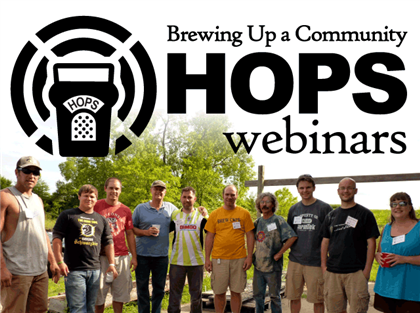 Brewing Up a Community Hops Webinars