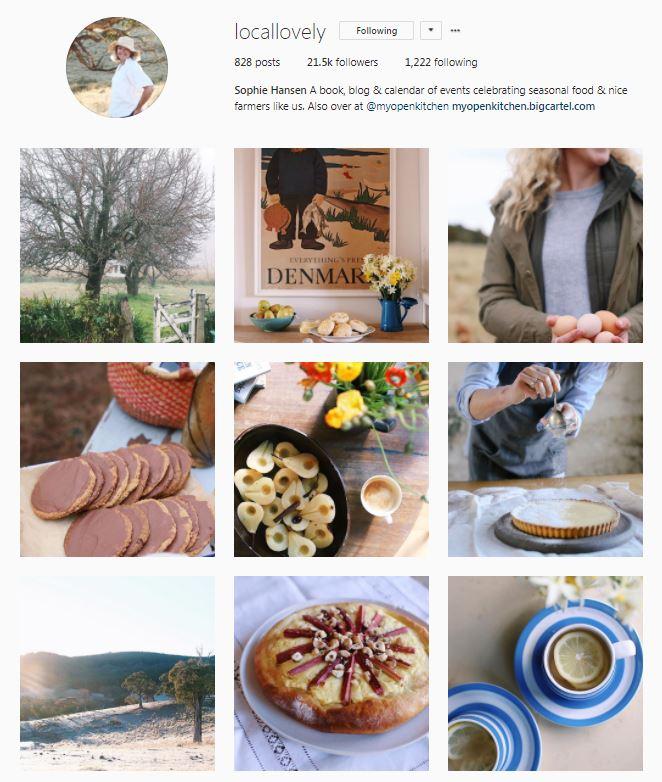 Sophie Hansen Instagram