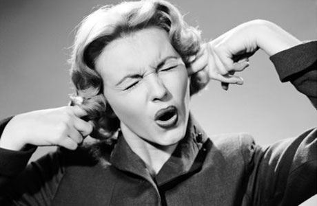 La la la... I can't hear what's bothering me!