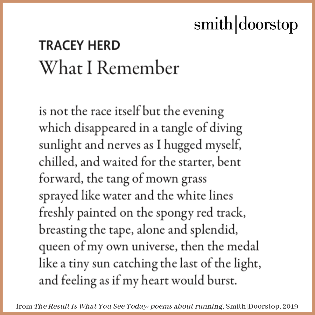'What I Remember' – poem by Tracey Herd