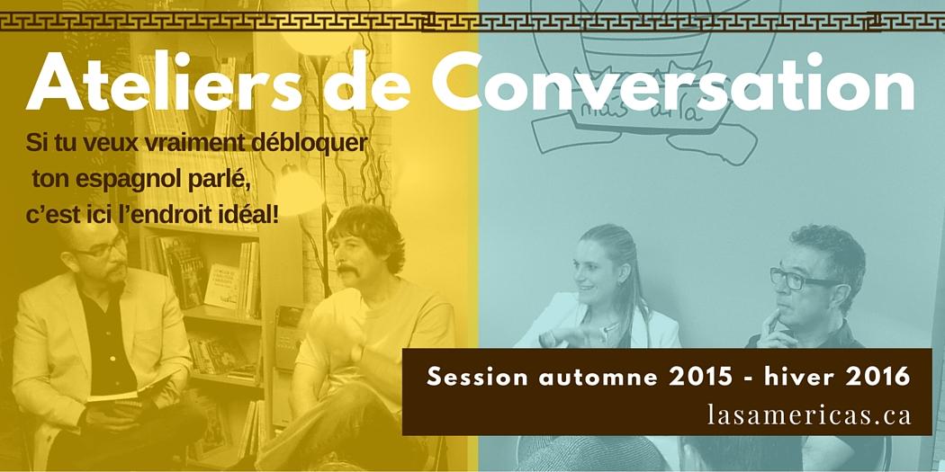 Ateliers conversation