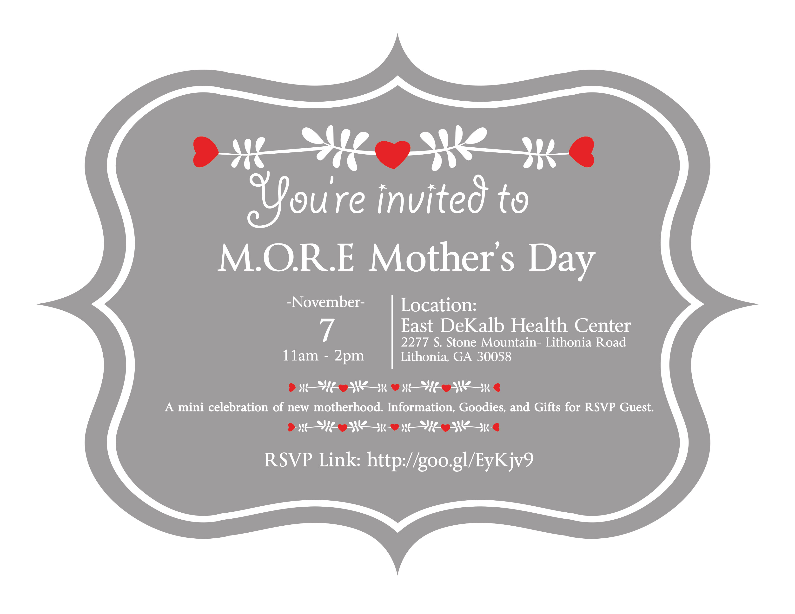 M.O.R.E. Mother's Day