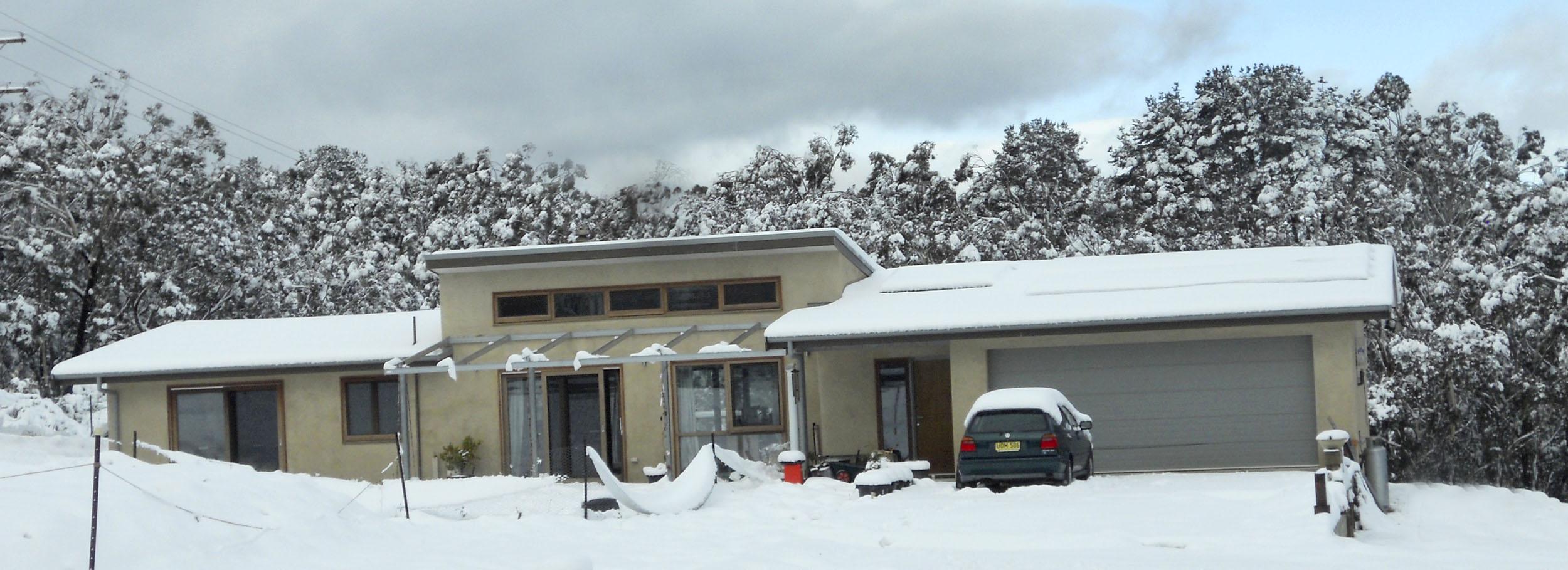 Katoomba in the snow