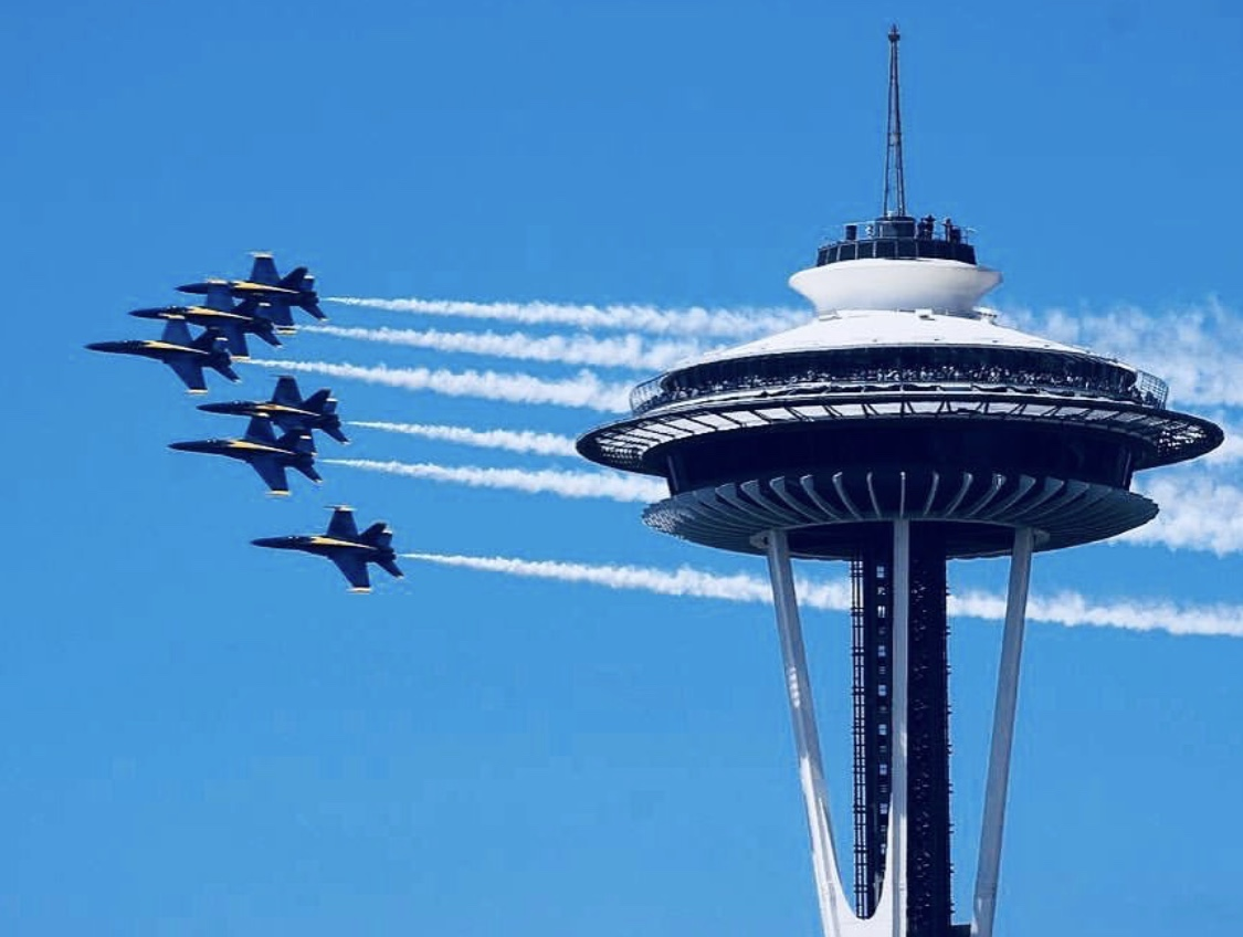 Seafair air show schedule