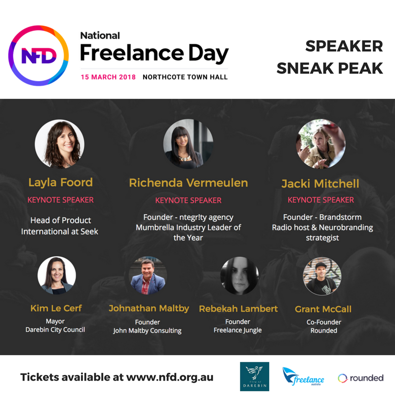 National Freelance Day Speakers Melbourne