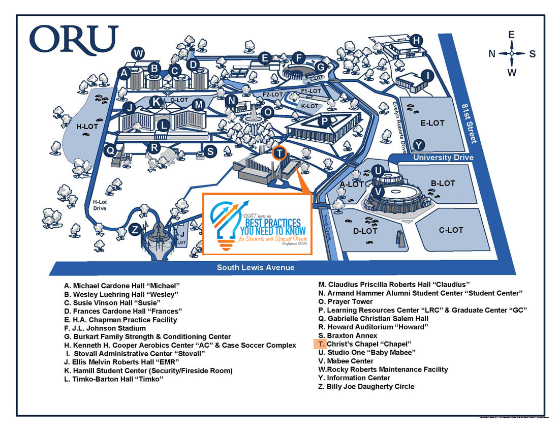 Best Practices Special Needs Conference Map