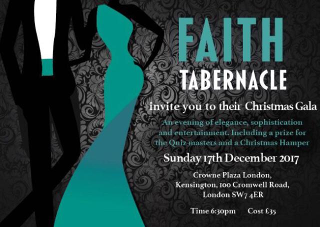 Faith Tabernacle Gala Dinner