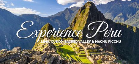 Experience Peru