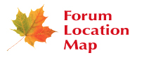 Forum location map