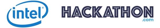 Intel and Hackathon.com lgogs