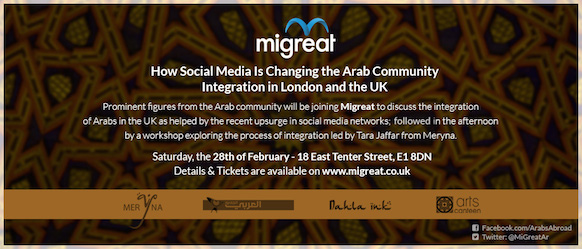 Social media & Arab community integration in london and UK