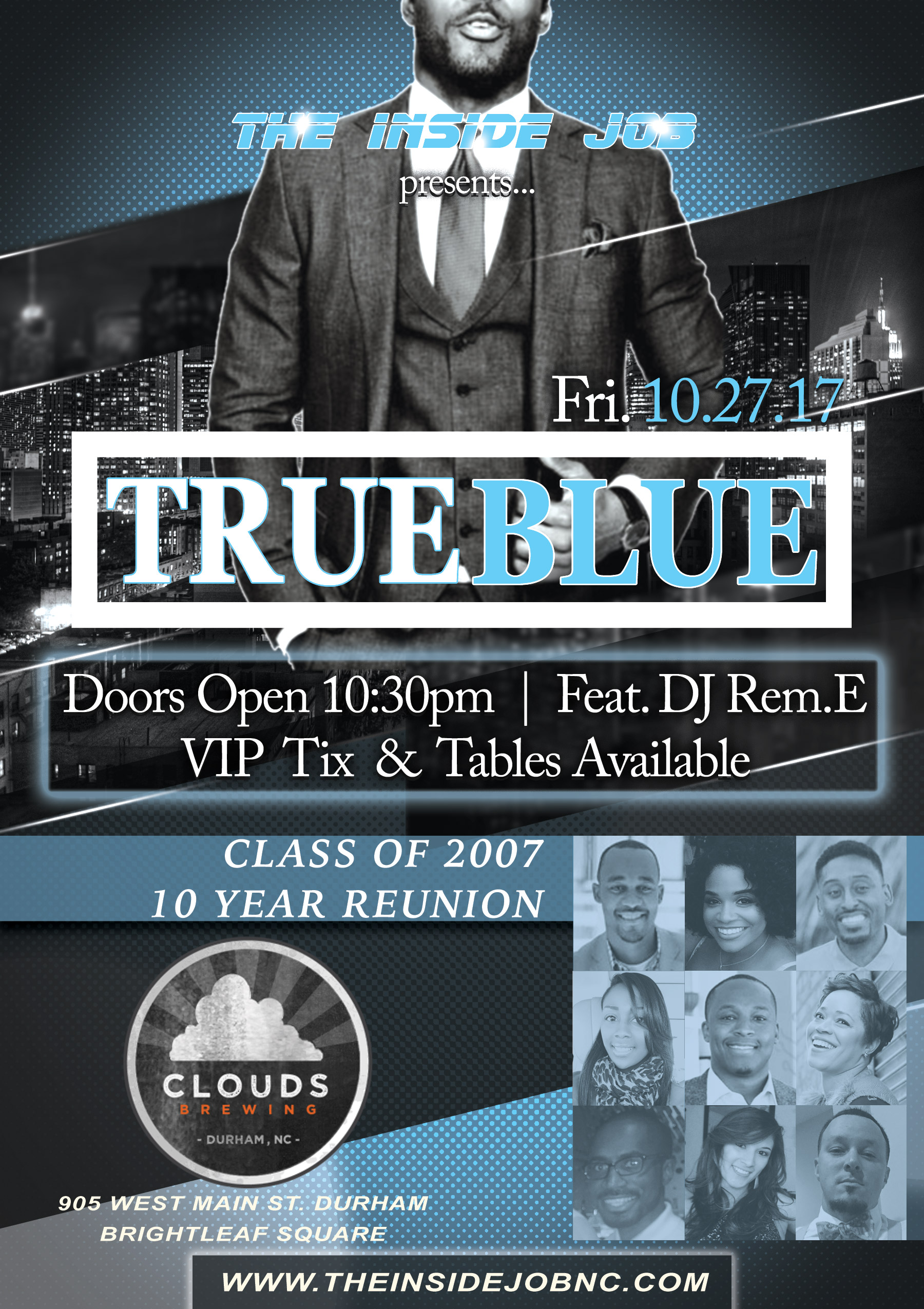 TrueBlue Carolina Homecoming Kick Off
