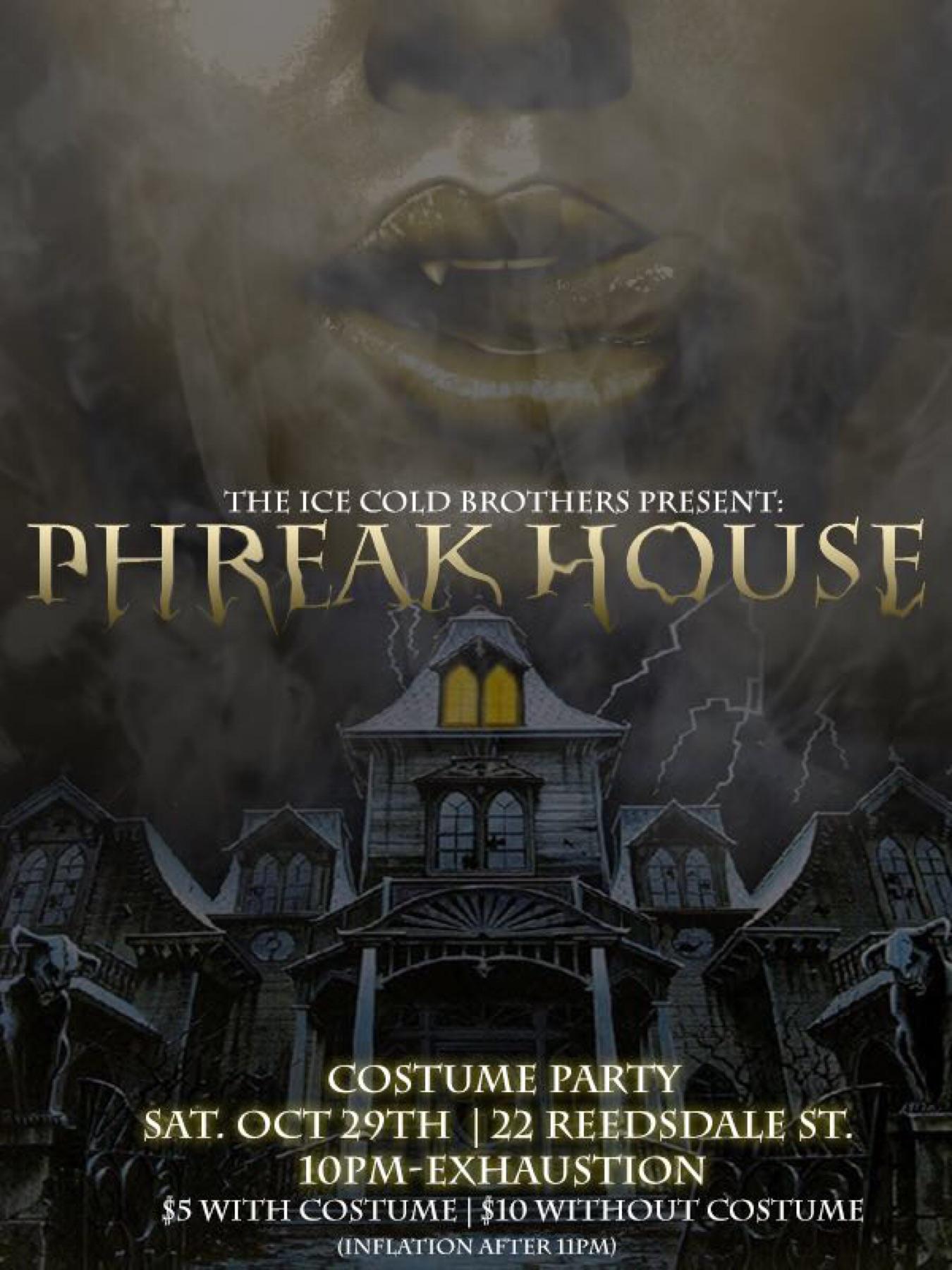 Phreak House: The Official Boston Halloween Party Tickets, Sat ...