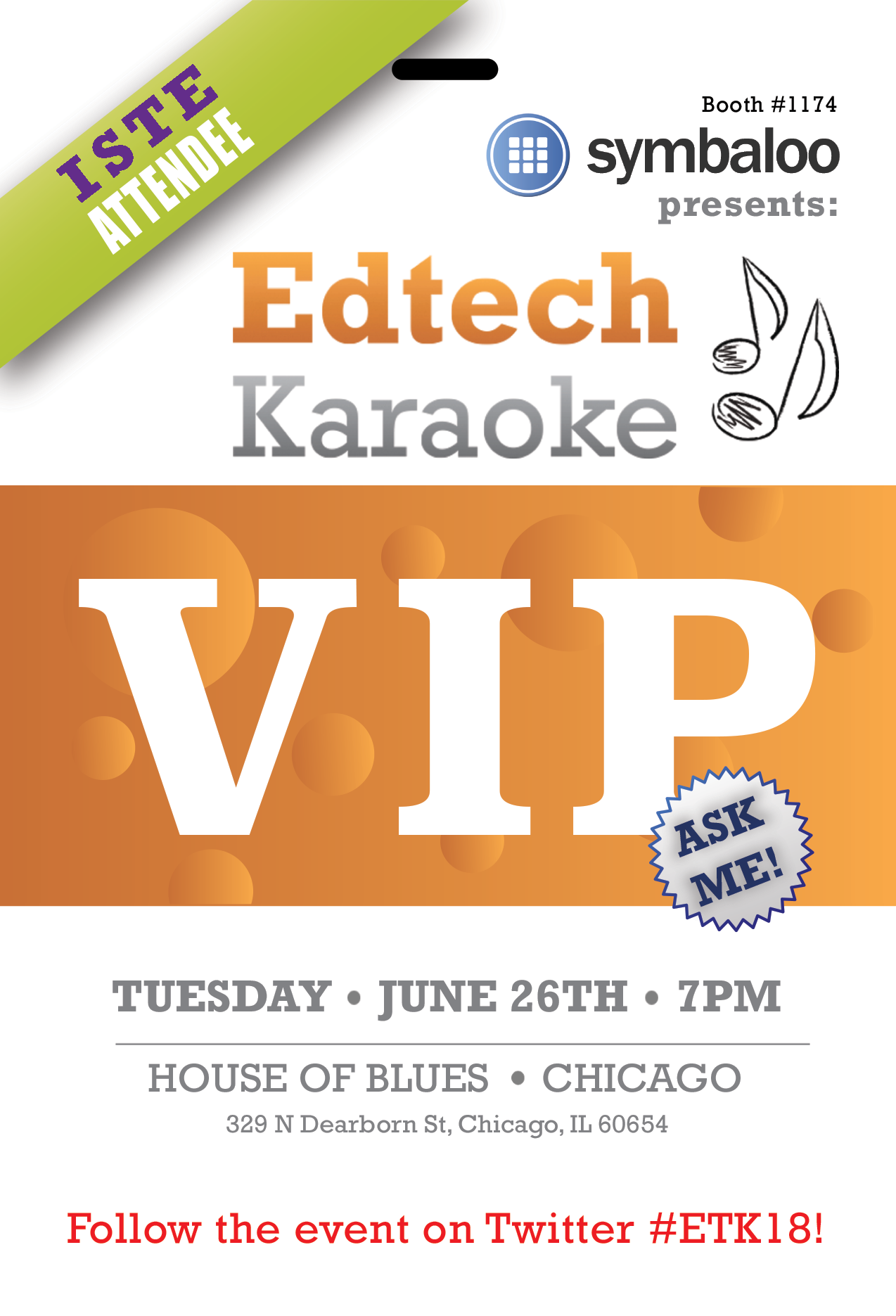 Edtech Karaoke 2018 Badge